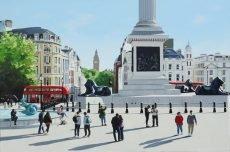 Late Summer, Trafalgar Square 91x61cm £1995