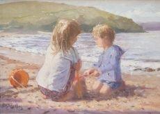 Nicholas St John Rosse - Together at Daymer Bay 28x20 £665