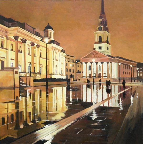 Nighttime Reflections London (002) 76x76cm £1995