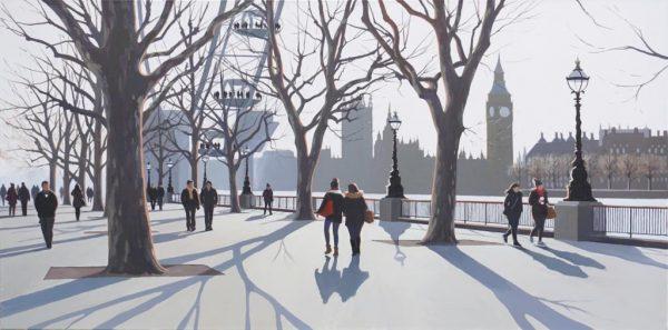 Parliament Sunset 122x61cm £2495