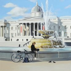 The Fountain, Trafalgar Square 51x51cm £995