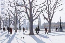 Winter Light, South Bank 76x51cm £1395