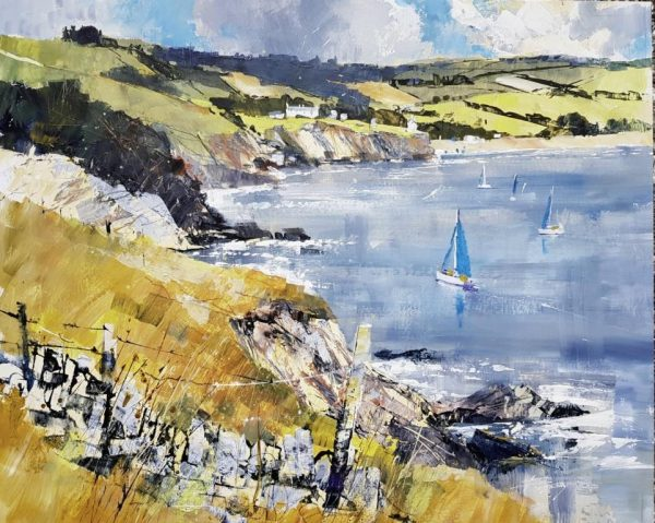 Chris Forsey Along the coast to Hall Sands 40x50 £1100