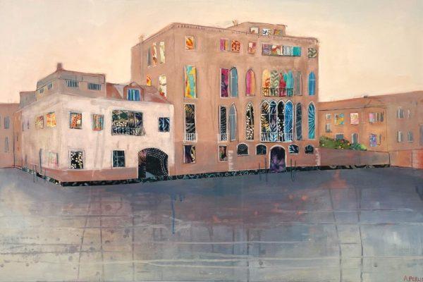 Anna Perlin A Quiet Corner, Venice 91cm x 60.5cm £1950
