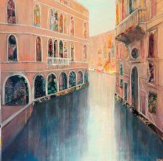 Anna Perlin Shadows and Light, Venice 76cm x76cm £1950