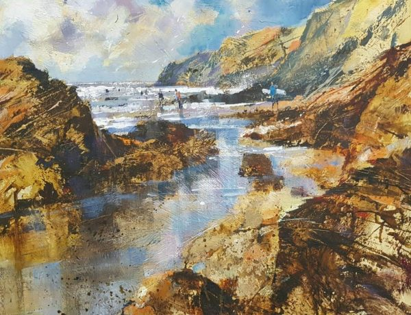 Chris Forsey Boards out, surf's up. 50x60 £1350