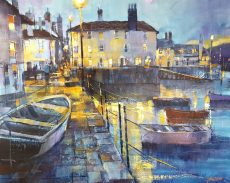 Chris Forsey Glowing lights and reflections, Bayards 60x50 £1350