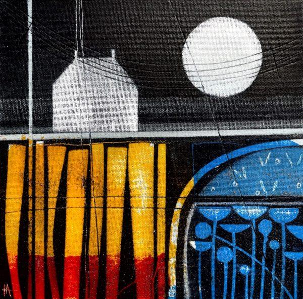 Moon bright.20 x 20cm £350.Heidi Archer