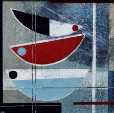 On the shore.20 x 20cm £350. Heidi Archer