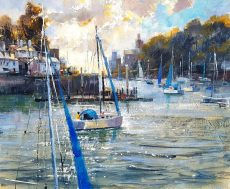 Out to sail, Kingswear 50x60 £1350