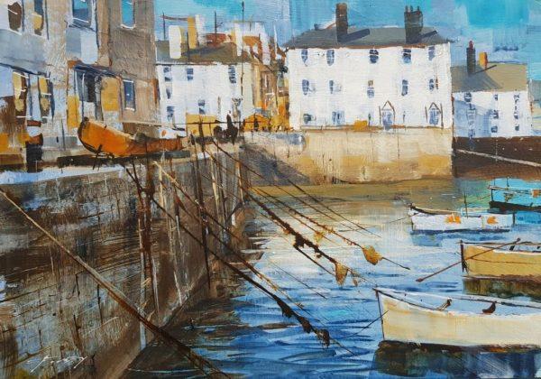 Ropes and boats, Bayards 25x18cm £245