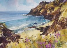 Spring in the cove. 40x30cm £750