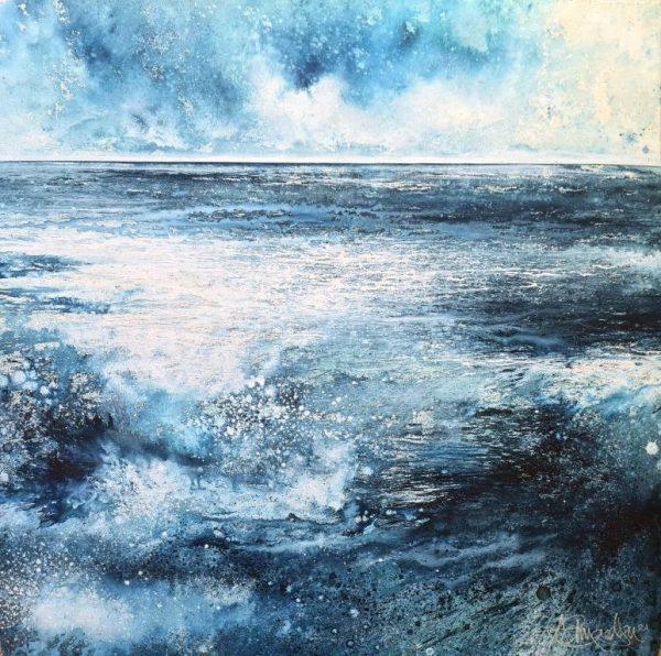 Stewart Edmondson - Across the Bright Shore 86.5 x 85.5