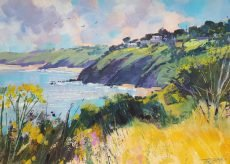 Summer afternoon, from Little Dartmouth 40x30cm £750