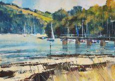 The pier, Dittisham 28x40 £795