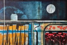 Colour fields (ii). 76 x 50cm.Heidi Archer