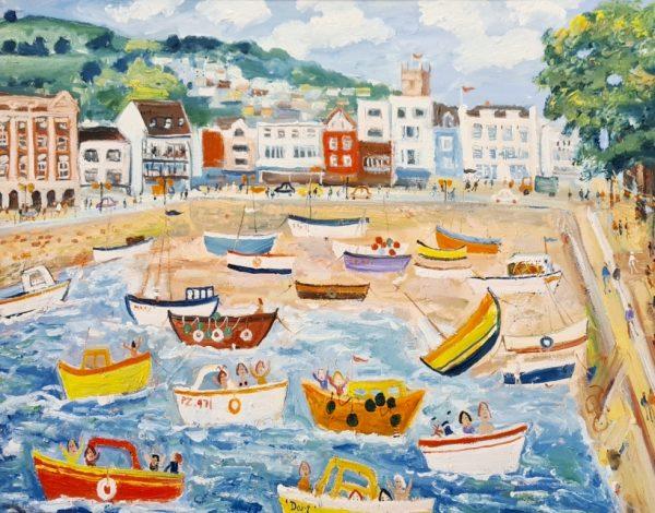 Dartmouth Quay Simeon Stafford 76x50 £2650