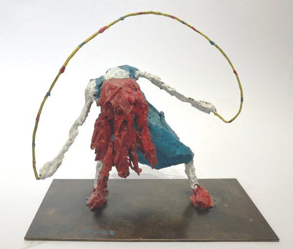 Simeon Stafford - Skipping Girl sculpture