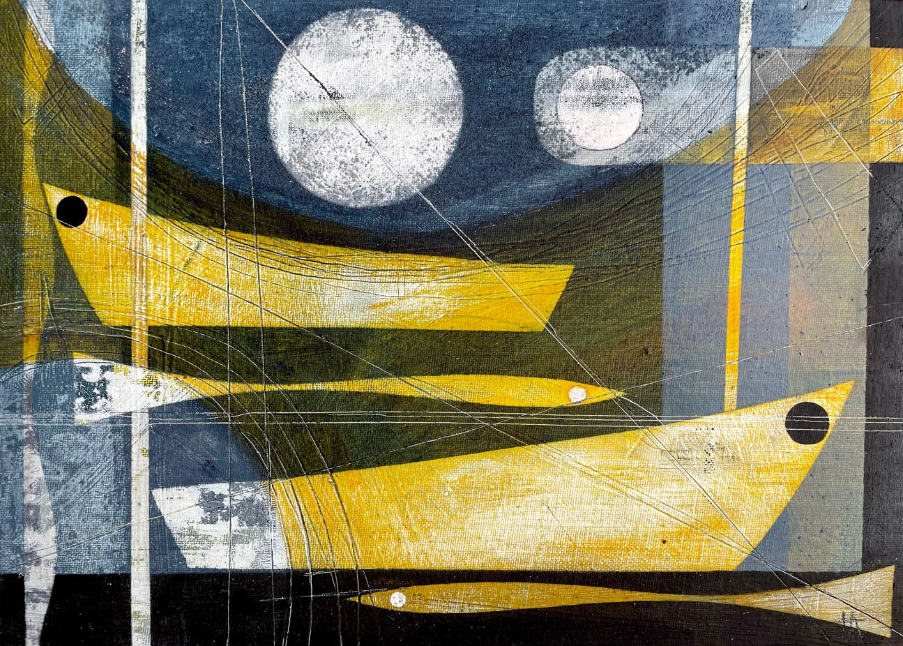 Moon river.35 x 25cm.Heidi Archer A